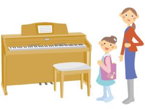 ピアノ教室を選ぶポイント