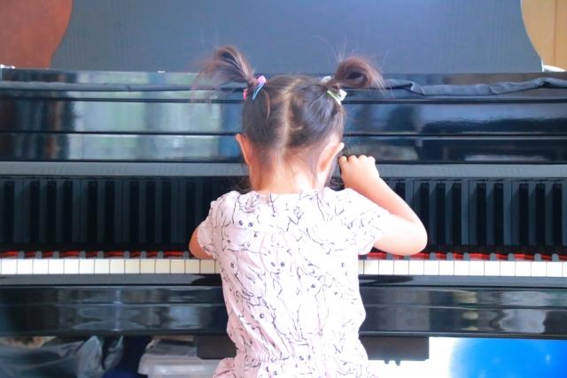 やり抜く力を育てるピアノ教室
