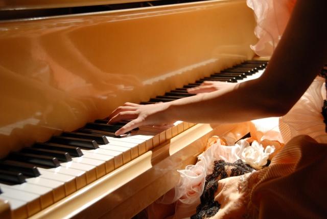 ピアノコンクールで入賞する