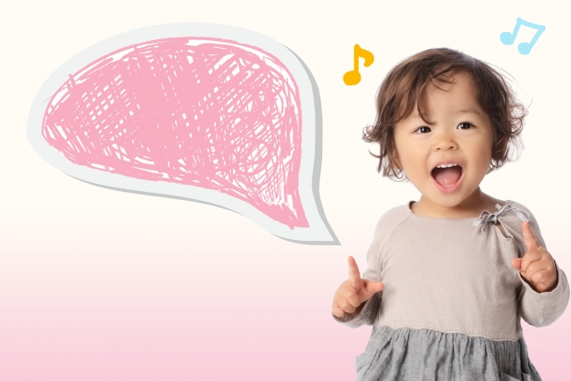 歌うことで音感を養う