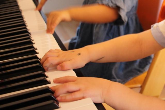 ブラインドタッチを身につけるとピアノがどんどん弾ける