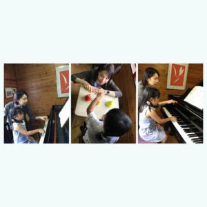 横山美和ピアノ教室 レッスン風景