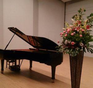 発表会のピアノ