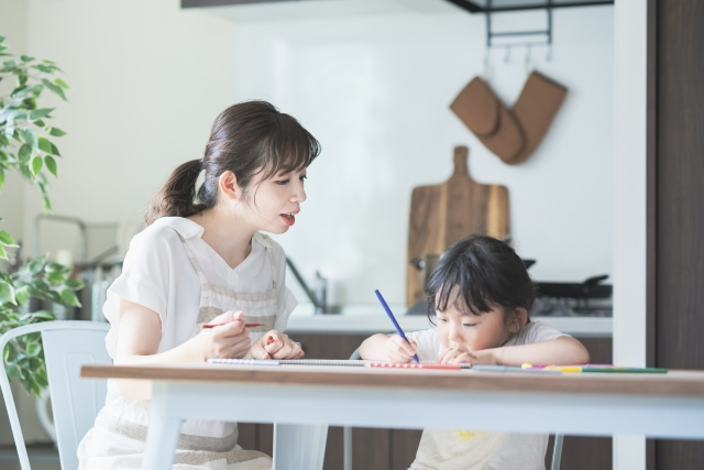 親子でピアノ練習計画を立てる