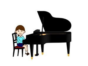 ピアノ発表会前日の練習